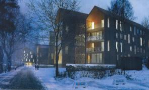 Sex byggförslag för Herrgårdsbacken