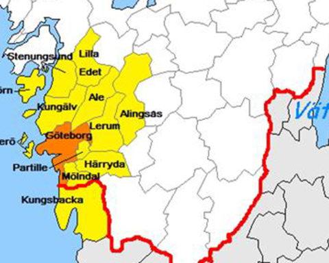 Göteborgs kraftlöshet påverkar hela regionen