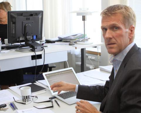Det du som ekonomichef känner dig bekväm med ska matchas mot den politiska beställningen, säger Håkan Pettersson. Bild:: Titti Thorsell