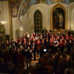 Julkonsert i Skallsjö kyrka.